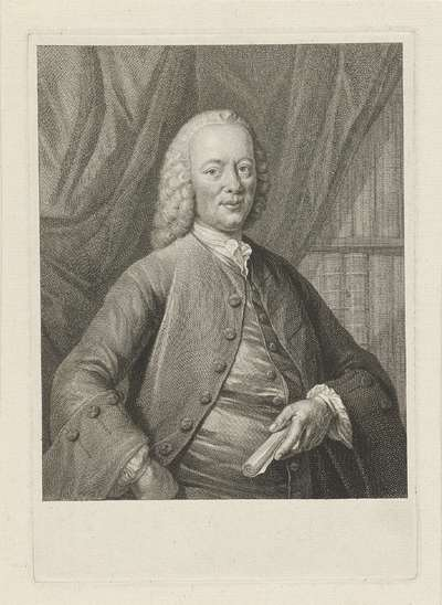 Portret van Bernardus de Bosch