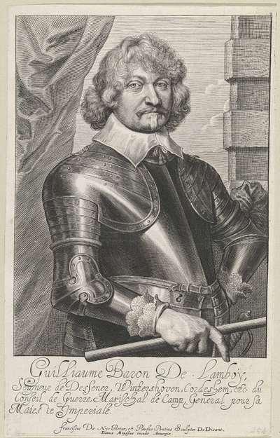 Portret van Guillaume, baron van Lamboy