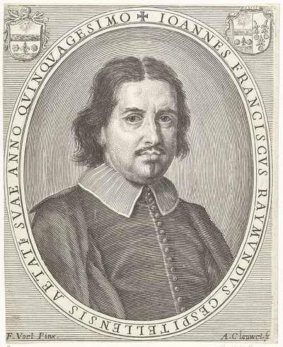 Portret van Giovanni Francesco Raimondi