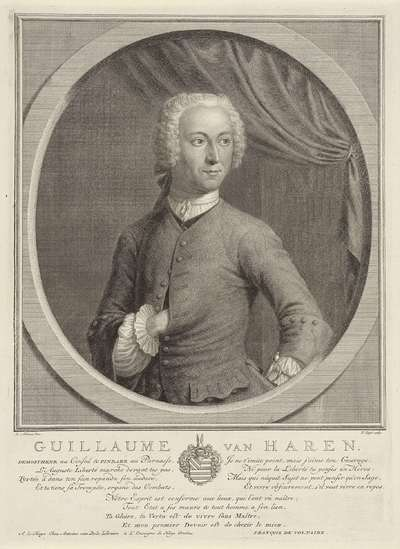 Portret van Willem van Haren