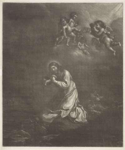 Christus in de hof van Getsemane