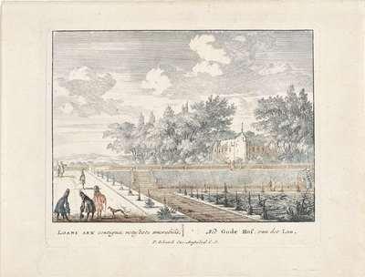 Gezicht op Kasteel Het Oude Loo; Admirandorum quadruplex spectaculum; Uitgeleesene Gesichte van het Wijdvermaarde Loo als andere vorstelijke Huisen