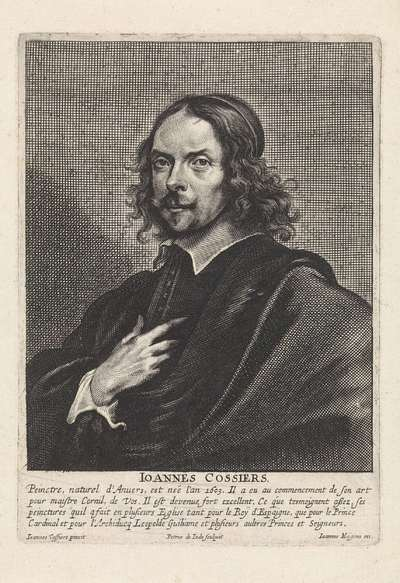 Portret van Jan Cossiers
