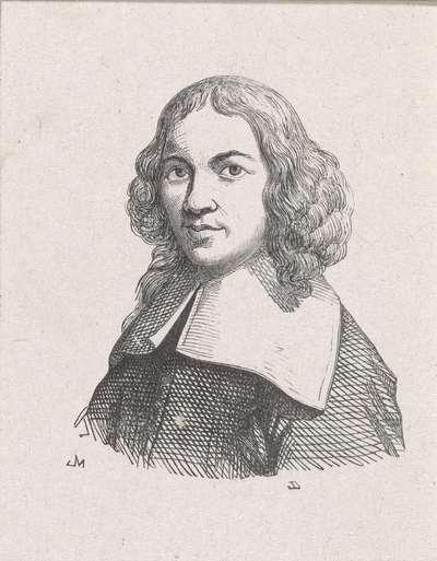 Portret van Gerrit Adriaansz. Berckheyde
