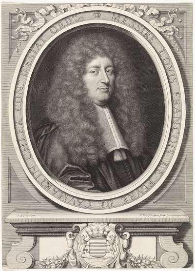 Portret van de Franse staatsman Louis-François Le Fèvre de Caumartin