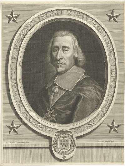 Portret van Hardouin de Beaumont de Péréfixe