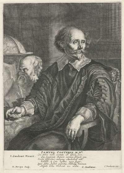 Portret van Samuel Coster