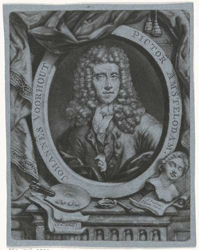 Zelfportret van Johannes Voorhout (I)