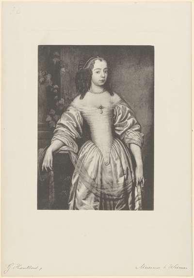 Portret van Albertine Agnes, prinses van Oranje