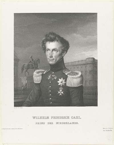 Portret van Frederik, prins der Nederlanden