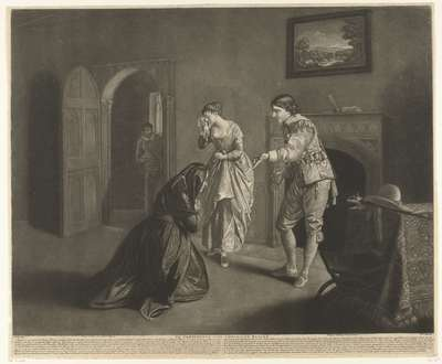 The Continence of the Chevalier Bayard