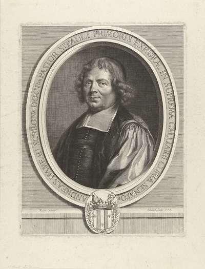 Portret van André Hameau