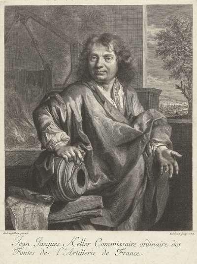 Portret van Jean-Jacques Keller