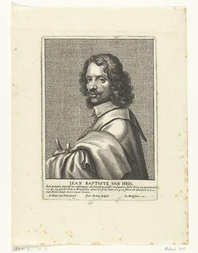 Zelfportret van Jean Baptist van Heil
