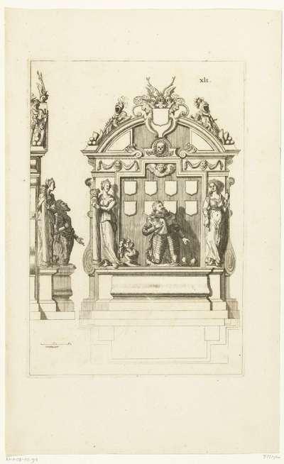 Graftombe van Willem Lodewijk, graaf van Nassau, in de Grote Kerk te Leeuwarden, 1620