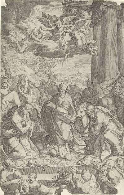 Aanbiding door de herders
