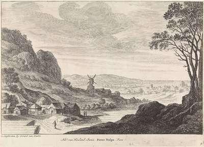 Kustlandschap met een molen; Landschappen