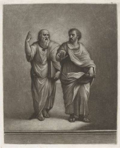 Image from object titled Plato en Aristoteles