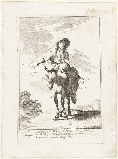 Bertoldo op de ezel; Historie van Bertoldo, Bertoldino en Cacasenno
