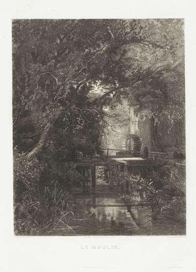 Watermolen; Le Moulin