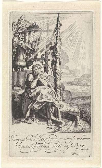 Jona onder de wonderplant; Verhaal van Jona