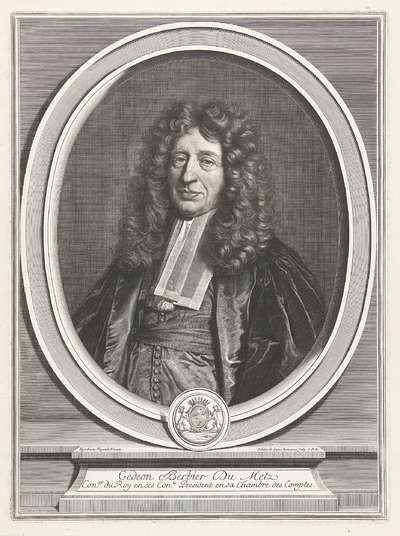 Portret van Gédéon Berbier du Metz