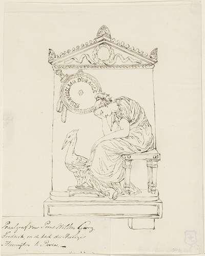 Grafmonument voor Frederik, prins van Oranje-Nassau, 1799