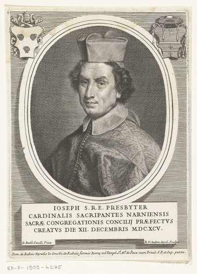Portret van kardinaal Giuseppe Sacripante