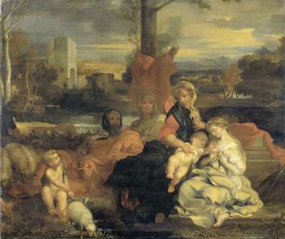 Image from object titled The Mystic Marriage of St Catherine