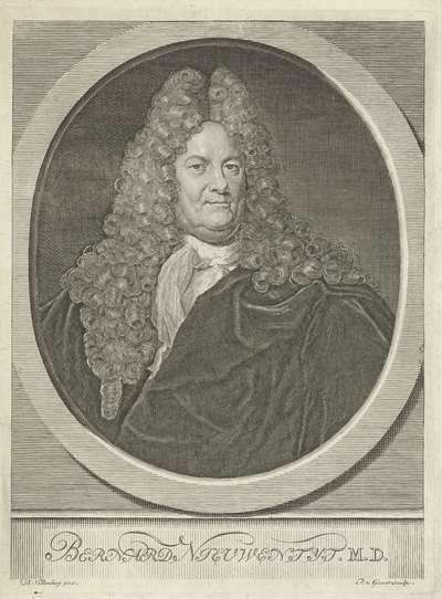 Portret van Bernard Nieuwentijt