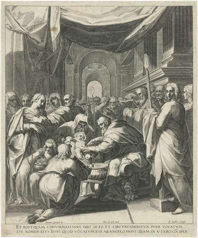 Image from object titled Besnijdenis van Christus; Leven van Maria