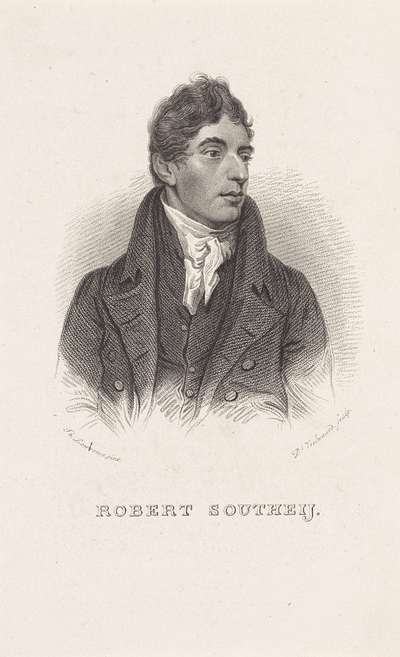 Image from object titled Portret van de Engelse schrijver Robert Southey