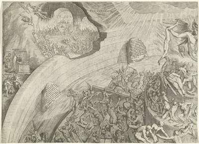 Hel en vagevuur (deel linksboven)