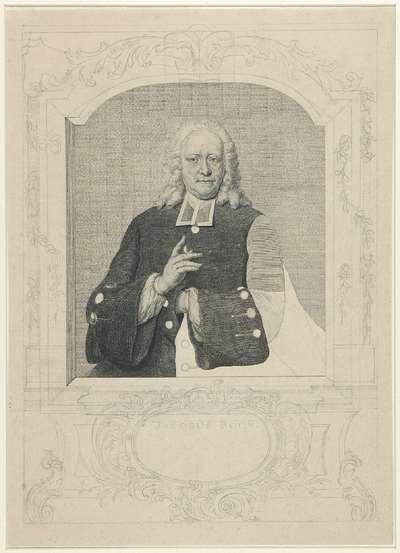 Portret van Jacobus Boon
