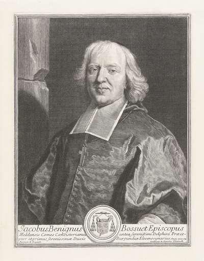 Portret van Jacques Bénigne Bossuet; Jacobus Benignus Bossuet