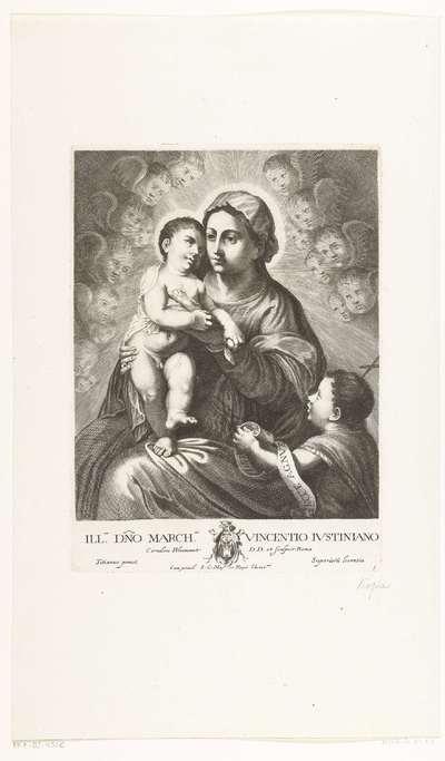 Madonna en Johannes de Doper