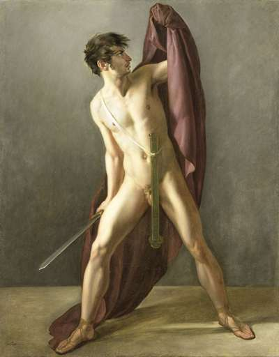 Image from object titled Warrior with Drawn Sword