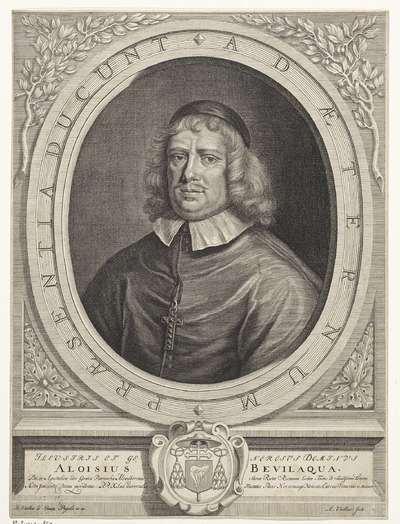 Portret van Aloysius Bevilacqua