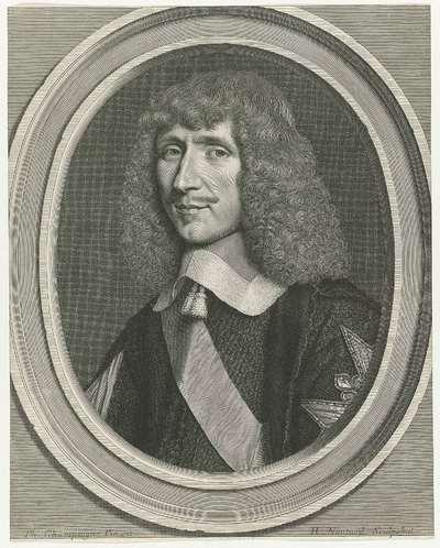 Portret Léon Bouthillier, Comte de Chavigny
