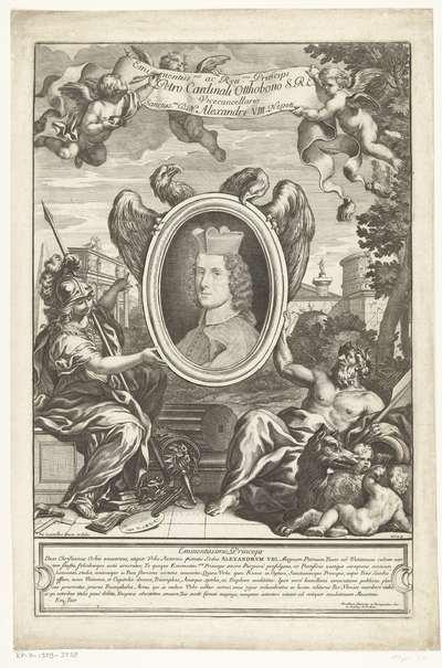 Portret van kardinaal Pietro Ottoboni
