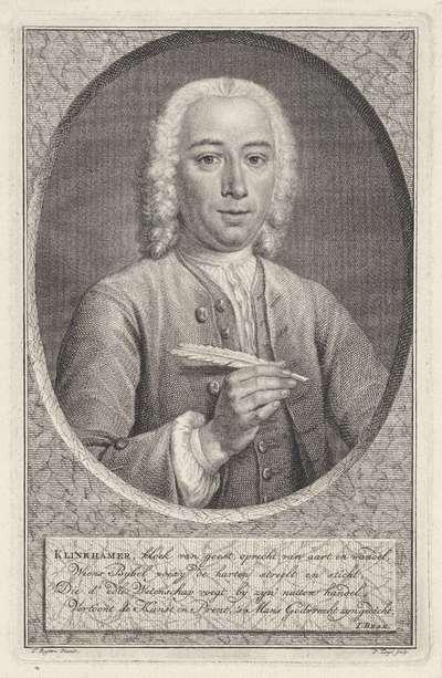 Portret van Govert Klinkhamer