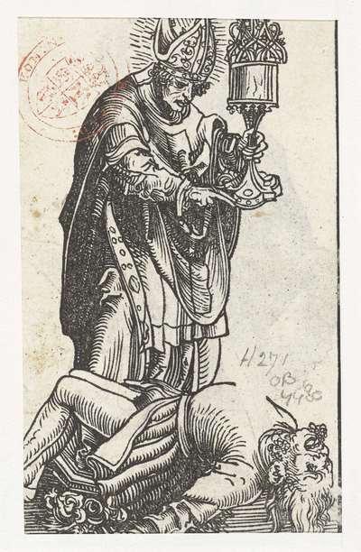 Image from object titled Beeld van heilige Valentijn als bisschop