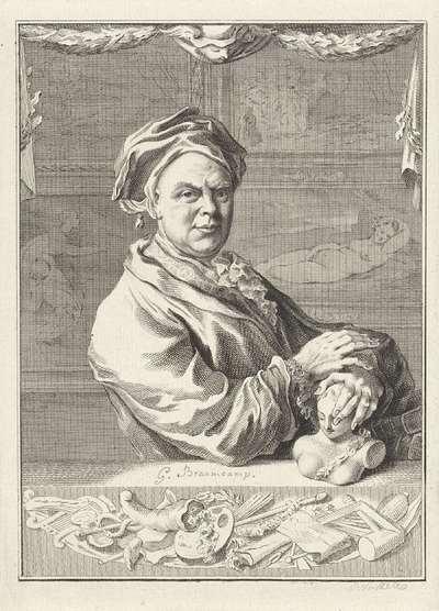Portret van Gerrit Braamcamp
