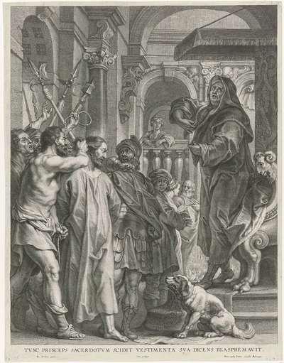 Christus voor Kajafas