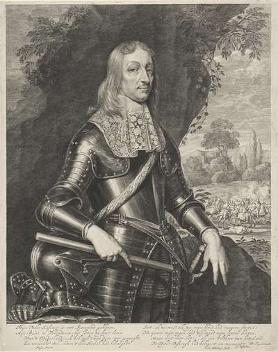 Portret van Willem Frederik, graaf van Nassau-Dietz