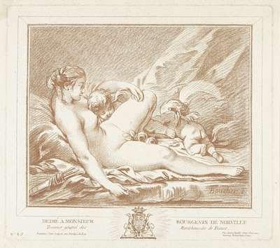 Image from object titled Liggende Venus met Amor en Anteros