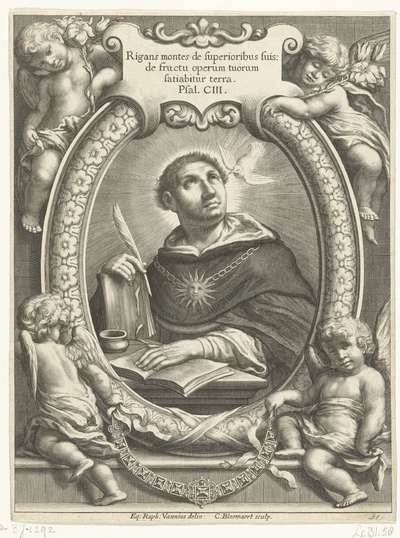 De heilige Thomas van Aquino
