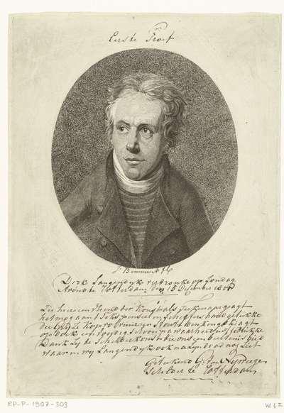 Portret van Dirk Langendijk