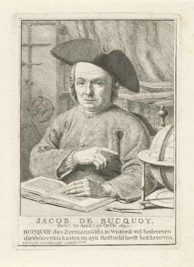 Portret van Jacob de Bucquoy