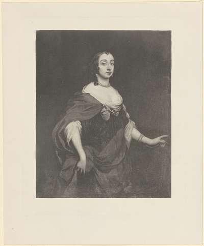 Portret van Maria Henrietta Stuart